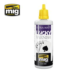 AMMO OF MIG A.MIG-2050 Lucky Varnish Ultra-Matt 60ml