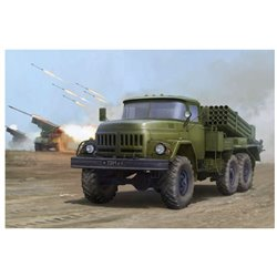 Trumpeter 01032 1/35 Russian 9P138 Grad-1 on Zil-131*