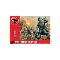 AIRFIX A01728 1/72 WWII French Infanterie