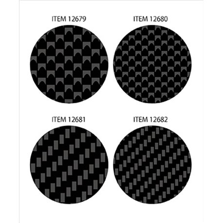 Tamiya 12679 Carbon Pattern Decal Set - Plain Weave/Fine