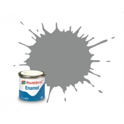 HUMBROL Peinture Enamel 126 US MED GREY 14ml SATIN