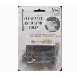 AFV Club AC35002 1/35 Sd.Kfz. Clearence Poles (6)