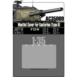AFV Club AC35009 1/35 Mantlet Cover Centurion'B'