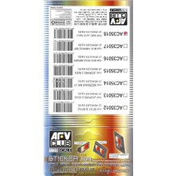 AFV Club AC35018 1/35 Sticker simul suitable LAV-25