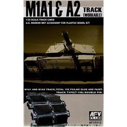 AFV Club AF35012 1/35 M1A1/2 BIG FOOT Tracks