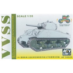 AFV Club AF35029 1/35 M4 SHERMAN VVSS SUSPENSION