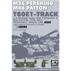 AFV Club AF35036 1/35 T80E1 Pershing Tracks
