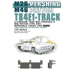 AFV Club AF35037 1/35 T84E1 Pershing Tracks