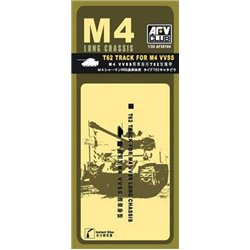 AFV Club AF35104 1/35 T62 Track for M4 VVSS