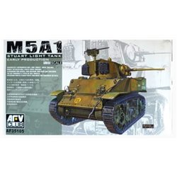 AFV Club AF35105 1/35 M5A1 Stuart Early Prod.