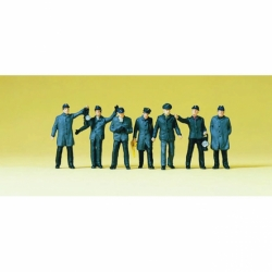 Preiser 10409 Figurines HO 1/87 Personnel de triage DB - Railway yard Workers