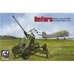 AFV CLUB AF35187 1/35 Bofors Anti-aircraft Gun British Version*