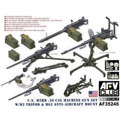 AFV Club AF35246 1/35 US M2HB.50 Cal Machine Gun Set