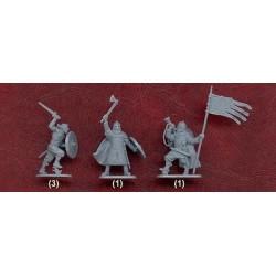 Preiser 10438 Figurines HO 1/87 Couple dans une chaise de plage et enfants