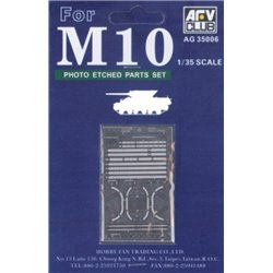 AFV Club AG35006 1/35 Photoetched TD M10