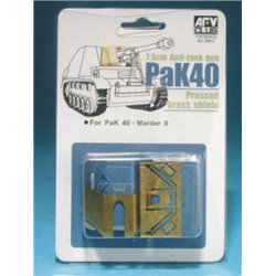 AFV Club AG35012 1/35 Brass Shield for PAK 40