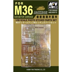 AFV Club AG35013 1/35 Photo-etched Set for M36