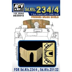AFV Club AG35015 1/35 Brass Shield Sd.Kfz.234/4