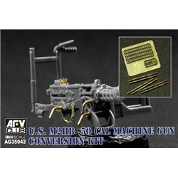 AFV Club AG35042 1/35 M2HB .50 Machine Gun Conversion Set