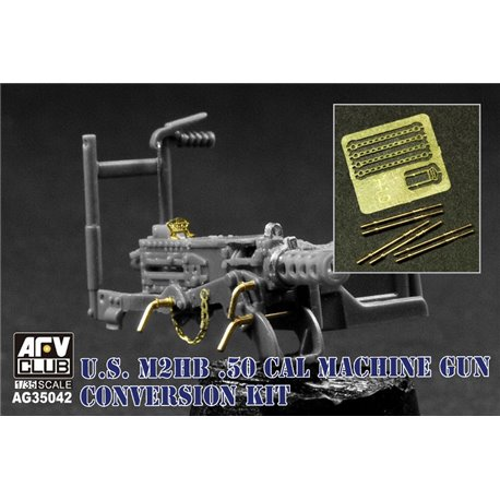 AFV Club AG35042 1/35 US M2HB .50 Conversion Kit