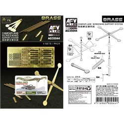 AFV Club AG35044 1/35 Camouflage Screening Support