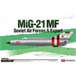 Academy 12311 1/48 MIG-21MF/SM Soviet Forces & Export