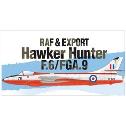 Academy 12312 1/48 RAF & Export Hawker Hunter F.6/FGA.9