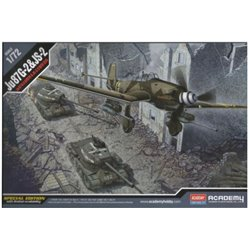 Academy 12539 1/72 Ju 87 G-2 & JS-2 Special Edition with limited availability