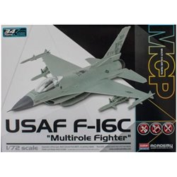 Academy 12541 1/72 USAF F-16C Multirole Fighter Multi Color Parts