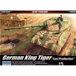 Academy 13229 1/35 King Tiger Last Production