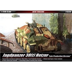 "Academy 13230 1/35 Jagdpanzer 38(t) Hetzer ""Late Production Version"""
