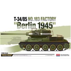 "Academy 13295 1/35 T-34/85 No.183 Factory ""Berlin 1945"""