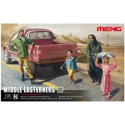 Meng HS-001 1/35 M. EASTERNERS IN THE STREET