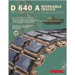 Meng SPS-016 1/35 D 640 A TRACKS FOR LEOPARD