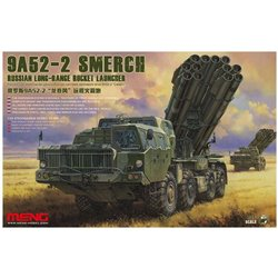 Meng SS-009 1/35 9A52-2 SMERCH RUSSIAN LONG-RANGE ROCKET LAUNCHER*