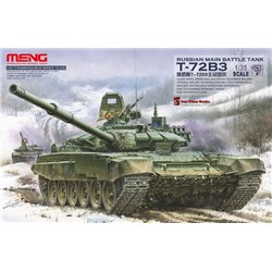 Meng TS-028 1/35 RUSSIAN BATTLE TANK T-72B3