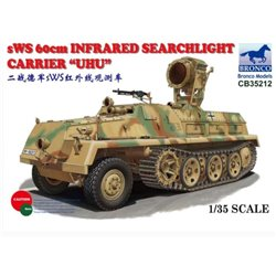"BRONCO CB35212 1/35 sWS 60cm Infrared Searchlight Carrier ""UHU"""