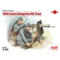 ICM 35697 1/35 WWI Austro-Hungarian MG Team