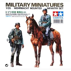 Tamiya 35053 1/35 Wehrmacht Mounted Infantry Set