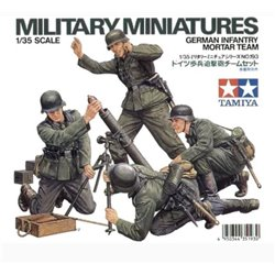 Tamiya 35193 1/35 German Infantry Mortar Team