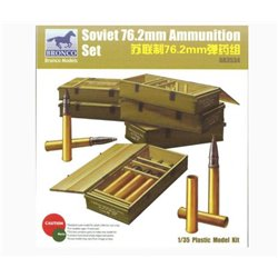Bronco AB3534 1/35 Soviet 76.2mm Ammunition Set