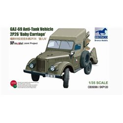Bronco CB35099 1/35 GAZ 69 Anti-Tank Vehicle 2P26 Baby Carriage
