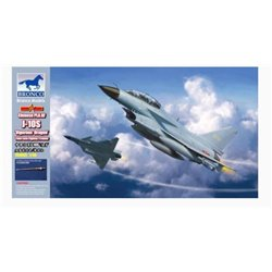 Bronco FB4005 1/48 Chinese PLAAF J-10S 'Vigorous Dragon' Twin-seat Fighter/Trainer