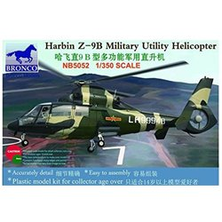 BRONCO NB5052 1/350 Harbin Z-9B Military Utility Helicopter 3 kits