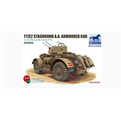 Bronco ZB48002 1/48 T17E2 Staghound A.A. Armoured Car