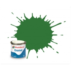HUMBROL Peinture Enamel 131 MID GREEN 14ml SATIN