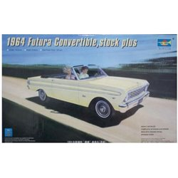 Trumpeter 02509 1/25 1964 Ford Falcon Futura Convertible, stock plus