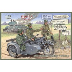 IBG Models 35002 1/35 BMW R12 with sidecar - military versions