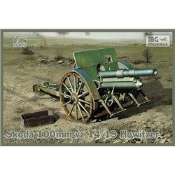 IBG Models 35025 1/35 Skoda 100mm vz 14/19 Howitzer
