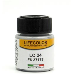 LifeColor LC24 Métal Mat – Matt Natural Metal FS37178 - 22ml